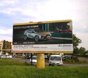 Pubblidea Srl Pisa: Poster pubblicitari stradali