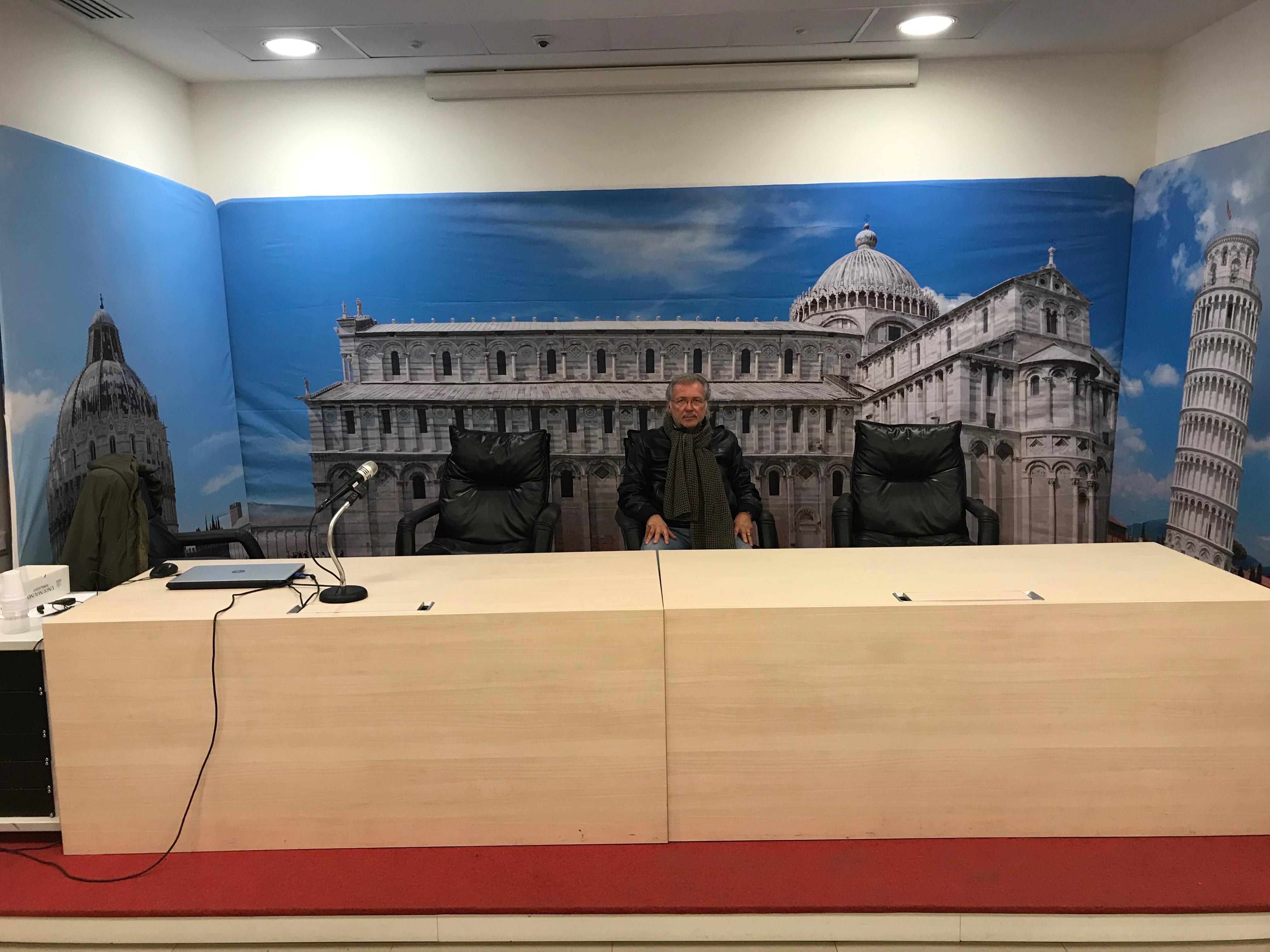 Fondali e pareti trompe l'oeil Pisa Livorno Lucca