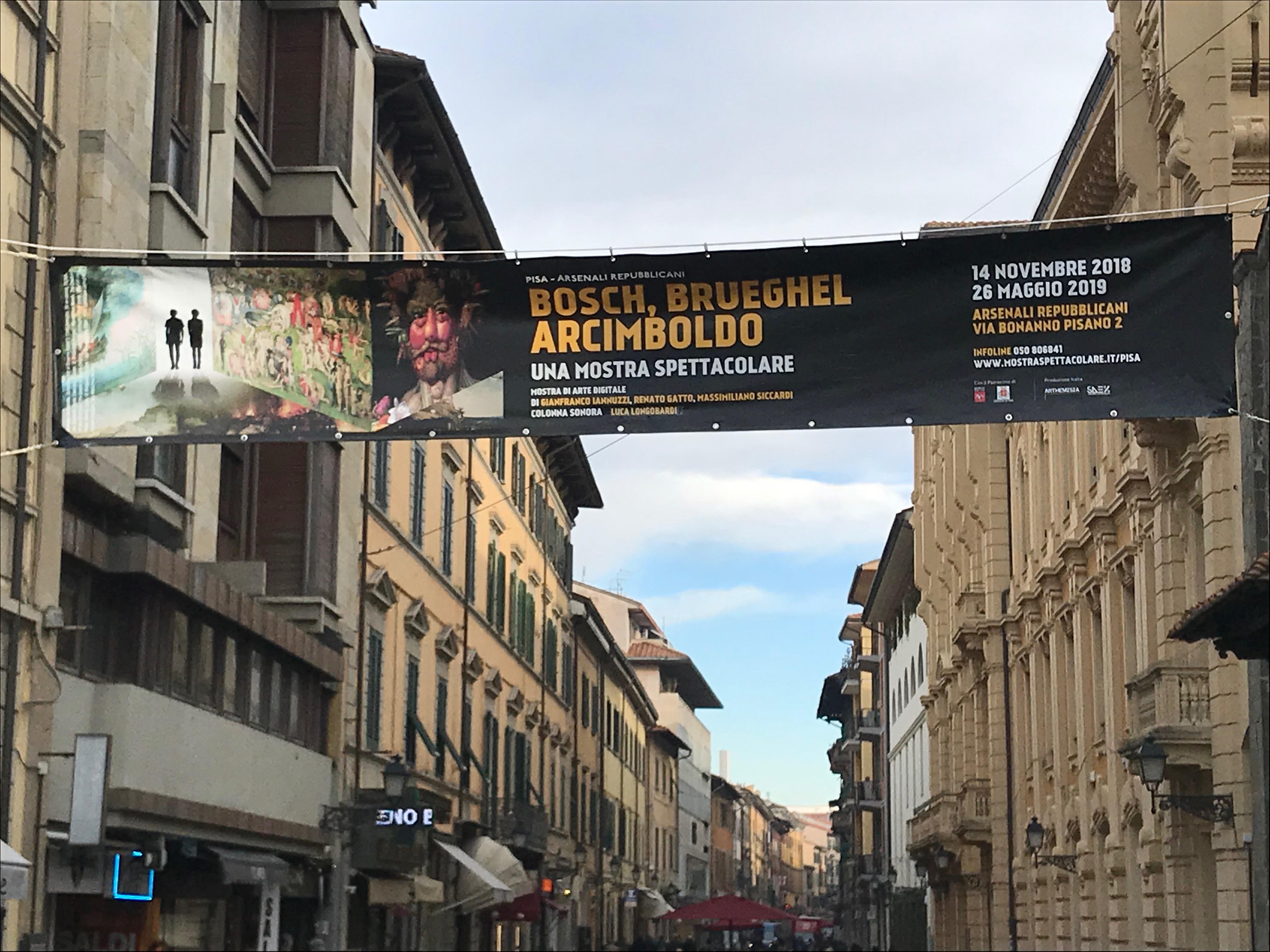 Banner e striscioni PVC Pisa Lucca Livorno
