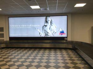 Pubblidea Srl Pisa: Aeroporto Internazionale di Pisa maxi schermo