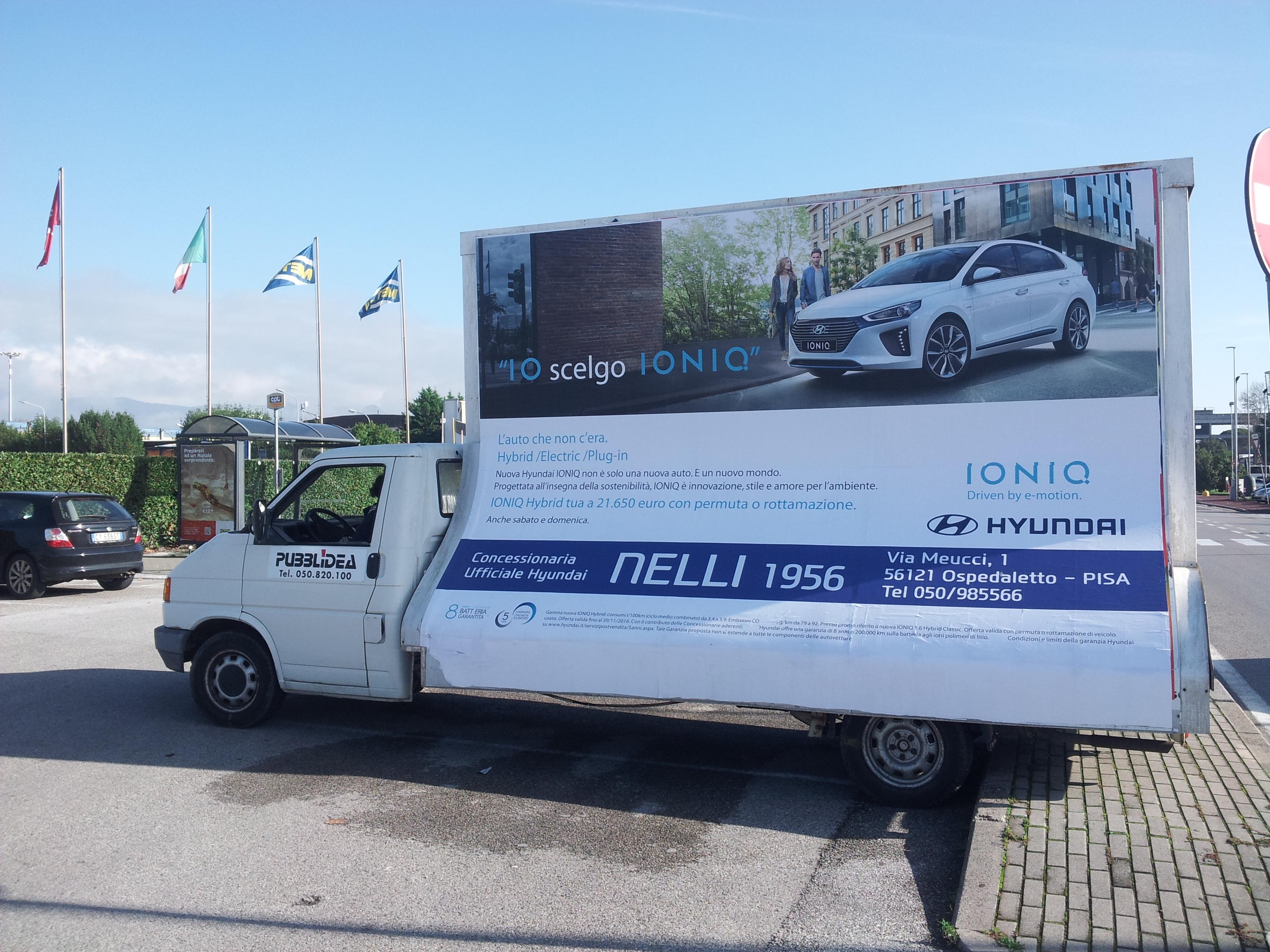 camion vela Pisa livorno lucca, camion pubblicità pisa lucca livorno