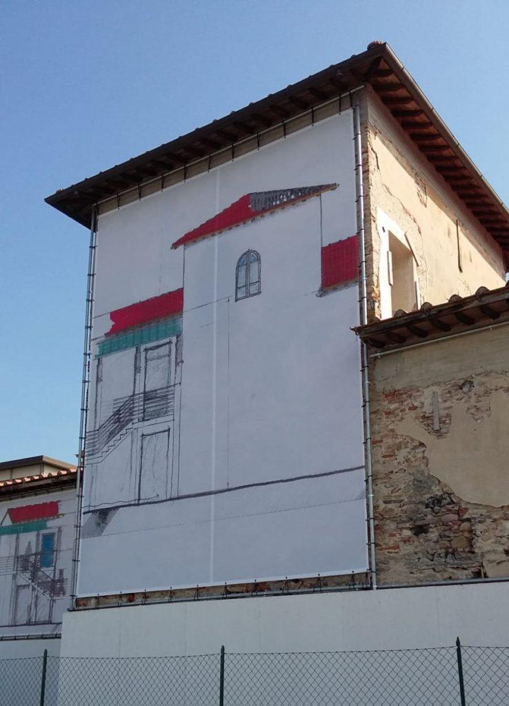 banner per facciate edifici Pisa lucca livorno, maxi teloni pva pisa livorno lucca, rivestimento edifici pisa lucca livorno, rivestimento facciate pvc