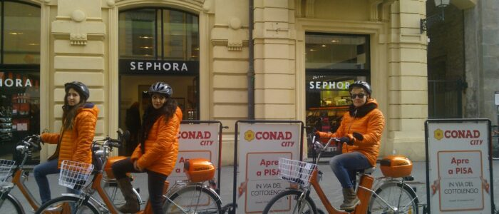 Pubblidea Srl Pisa: Biciclette vela
