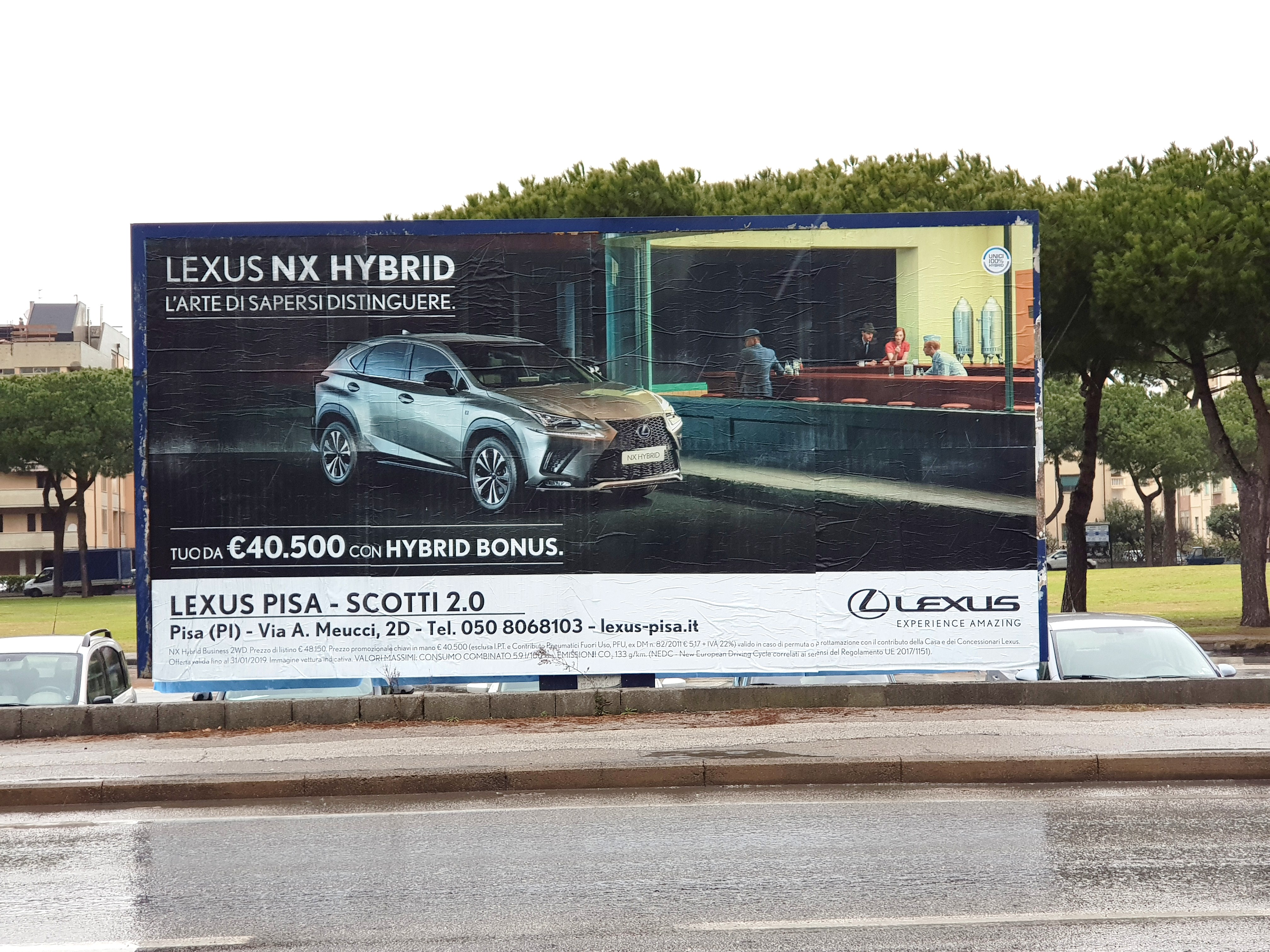 Poster pubblicitari Pisa, cartelli pubblicitari, cartelloni pubblicità, pubblicità su strada, Pisa pubblicità