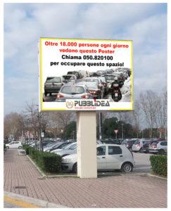 Pubblidea Srl Pisa: Cartellonistica impianti grandi dimensioni