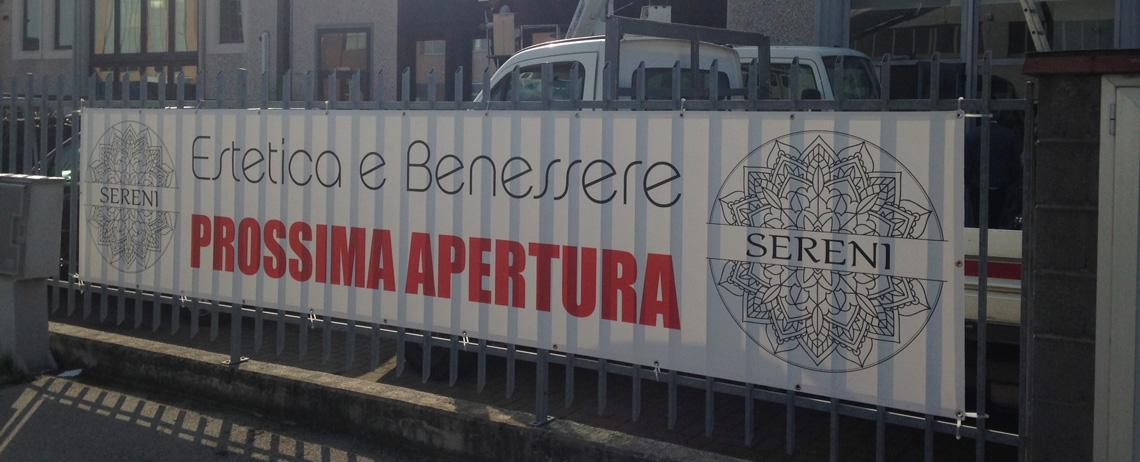 Banner e striscioni Pisa Lucca Livorno