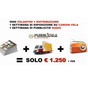 RIPARTI CON UNA VERA CAMPAGNA PUBBLICITARIA A SOLI 1.250 EURO