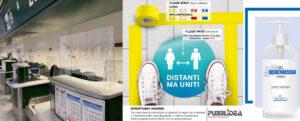 covid-19 allestimenti e soluzioni per negozi e uffici